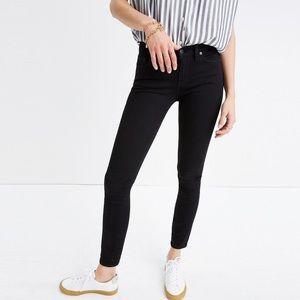 Madewell Black Skinny Jeans Size 28